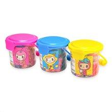 晨光文具24色彩泥轻儿童玩具带模具桶装AKE04093 外壳颜色随机