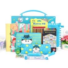 上品汇儿童手提盒文具套装学汛礼品小学生新年礼物幼儿园礼盒包邮