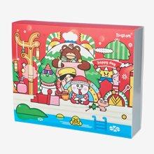 上品汇圣诞基础文具套装高档小学生礼盒儿童送礼幼儿园新年礼物