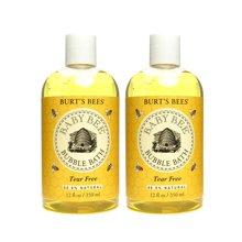 2瓶装 美国 Burts Bees 小蜜蜂 宝宝天然泡泡滋润沐浴露(天然香) 350ml/瓶