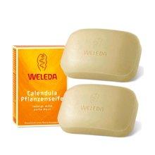 【2盒装】【德国】WELEDA维蕾德 金盏花儿童有机肥皂100g
