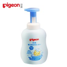 Pigeon/贝亲 (泡沫型)二合一洗发沐浴 6952124203338