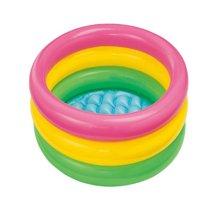 Intex荧光三环充气水池58924