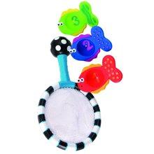 【美国】Sassy 婴儿网兜钓鱼捞鱼组合 儿童洗澡玩具