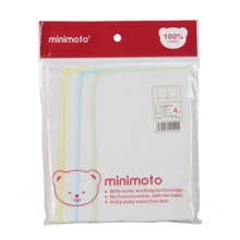 minimoto纱面巾4入(50x25cm)(YA0409)