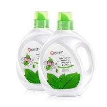 卓理/zolitt亲肤植物婴儿洗衣液抑菌皂液新生儿宝宝儿童专用无荧光剂2L瓶装