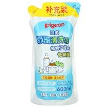 贝亲奶瓶清洁剂补充装(600ml)