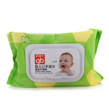 Goodbaby/好孩子 婴儿口手湿巾植物木糖醇(80片) U1202