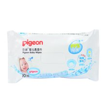 Pigeon/贝亲 10抽装婴儿柔湿巾 6952703700333