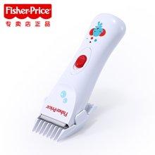 费雪(Fisher-Price)FSE18静音防水安全理发器自动婴儿童剃头刀 标准白