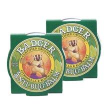【2盒装】【美国】Badger贝吉獾 虫虫怕怕膏 21g