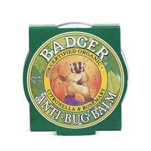 【美国】Badger贝吉獾 虫虫怕怕膏 21g