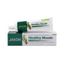 JASON美国进口无氟草本牙膏去黄去牙垢牙结石美白去口臭清新口气(茶树肉桂)
