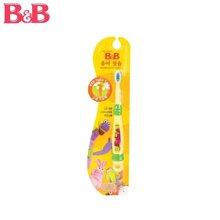 韩国保宁B&B 幼儿软毛儿童牙刷 2-4岁 1阶段 原装进口