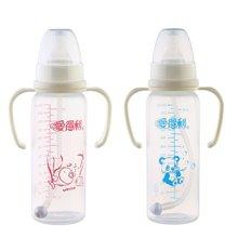 爱得利A61直身带柄自动PP奶瓶(240ml)