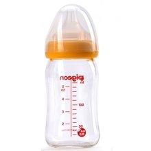 贝亲-宽口径玻璃奶瓶(黄色)(160ml)