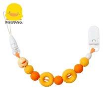 黄色小鸭 PIYOPIYI夜光甜甜圈奶嘴链