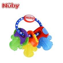努比(Nuby) 婴儿牙胶 宝宝磨牙棒安抚奶嘴硅胶儿童牙刷
