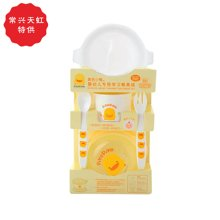 专柜同款 黄色小鸭 离乳餐具组330039