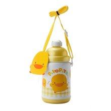 专柜同款 黄色小鸭 保冷温水壶/375CC  830093