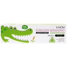 【韩国进口现货】K-MOM抗菌储存袋 L号 50枚 宝宝婴儿用自封袋抗菌袋大容量