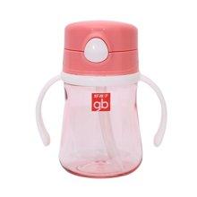 Goodbaby/好孩子 粉色晶透吸管训练杯 H80119