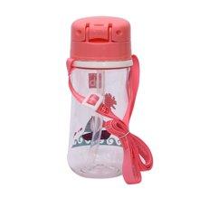 Goodbaby/好孩子 小船系列粉红色晶透吸管训练杯 H80124