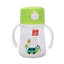 Goodbaby/好孩子 汽车系列绿色晶透吸管训练杯 H80121