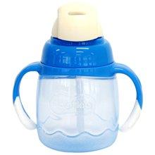 贝亲magmag吸管式宝宝杯(蓝色)(180ml)
