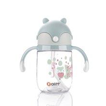 zolitt儿童吸管杯宝宝学饮杯婴儿防漏重力球水杯学生喝水水壶训练水杯
