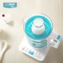 OONEW喔喔牛婴儿智能恒温调奶器温奶器消毒器三合一冲奶玻璃水壶