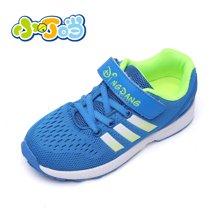小叮当童鞋休闲运动鞋新品男女童运动鞋中童学生跑步鞋潮D17519