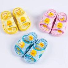 黄色小鸭 欢腾鸭凉鞋(有鞋带) 880223