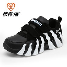 彼得潘童鞋夏季男童透气网鞋儿童镂空休闲鞋学生网面火焰潮鞋P759