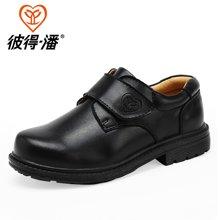 彼得潘童鞋 男童皮鞋春秋新款黑色皮鞋学生演出鞋儿童皮鞋P905