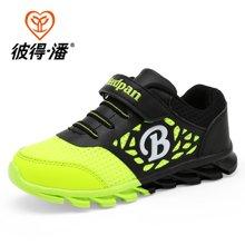 彼得潘童鞋 春季新款男童网布鞋男童鞋学生跑步鞋儿童运动鞋P813