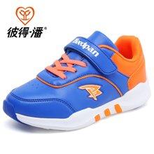 彼得潘男童鞋子潮秋季新款休闲鞋韩版女童鞋儿童运动鞋P1009