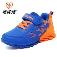 彼得潘秋季新款男童鞋学生休闲鞋中大童跑步鞋儿童运动鞋P857