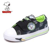 史努比童鞋秋款儿童帆布鞋百搭帅气男童鞋中小童布鞋  S6333001
