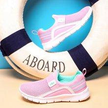 小叮当儿童网鞋女童透气休闲鞋夏季新款男童网面运动鞋潮童鞋