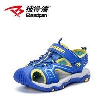 彼得潘童鞋夏季新款儿童包头凉鞋男童凉鞋防滑韩版男孩沙滩鞋P918