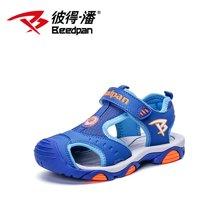 彼得潘童鞋 夏季新款大童男童包头凉鞋 学生凉鞋儿童鞋子男P920
