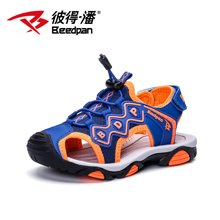 彼得潘童鞋包头凉鞋夏季新款防滑软底男童凉鞋韩版男孩沙滩鞋P919