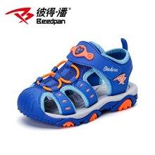 彼得潘童鞋新款宝宝凉鞋男夏季新款儿童学生凉鞋男童沙滩鞋潮P897