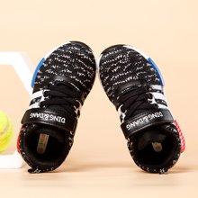 小叮当儿童运动鞋新品男童休闲运动鞋女童飞织透气运动鞋D683601/701