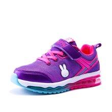 Miffy米菲童鞋男童气垫运动鞋春秋新款2017女童休闲跑步鞋AC021