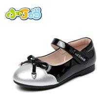 小叮当童鞋女童皮鞋公主鞋春季新款儿童春秋鞋韩版学生单鞋潮DA60106/206