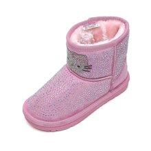 HELLO KITTY童鞋女童雪地靴2017冬季新款儿童保暖棉靴加绒棉鞋K6480940