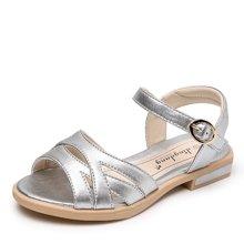 小叮当女童凉鞋公主鞋软底小学生鞋儿童平底潮单鞋夏季公主单鞋潮DB70520