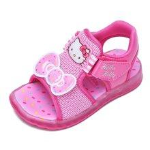 HELLO KITTY凯蒂猫童鞋女童凉鞋2017夏季新款儿童公主鞋透气沙滩鞋K7525824